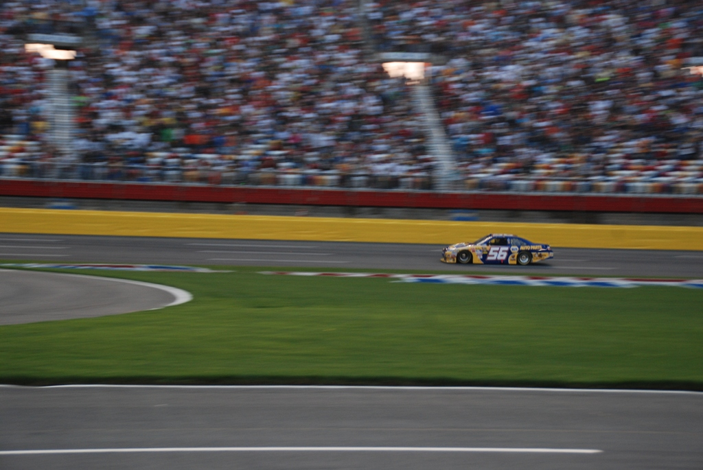 Martin Truex Jr. on Track
